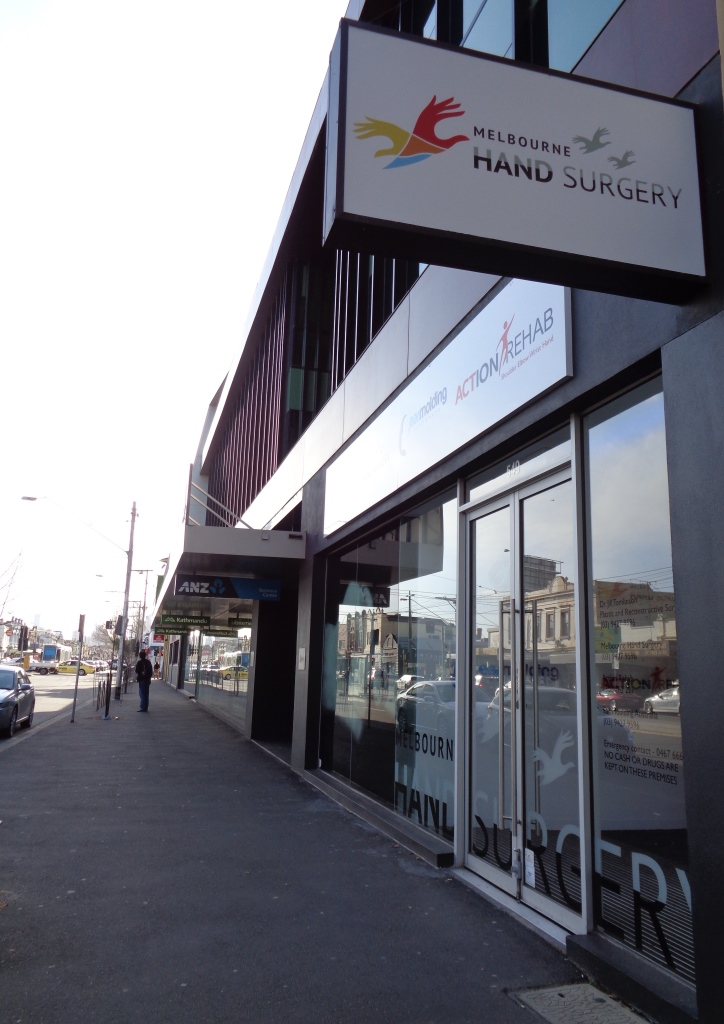 Melbourne Hand Surgery, 549 Bridge Road, Richmond